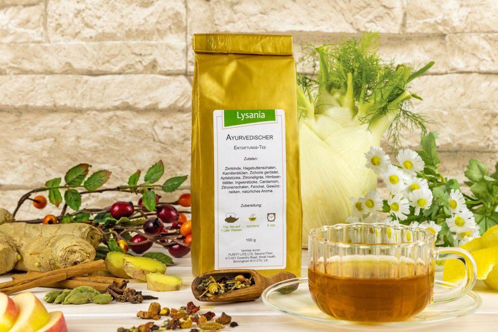 Ayurvedischer Entgiftungs-Tee